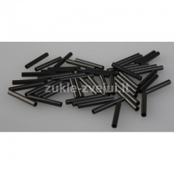 Gilzės Savagear Wire Crimps Black S 1.0mm 50pcs