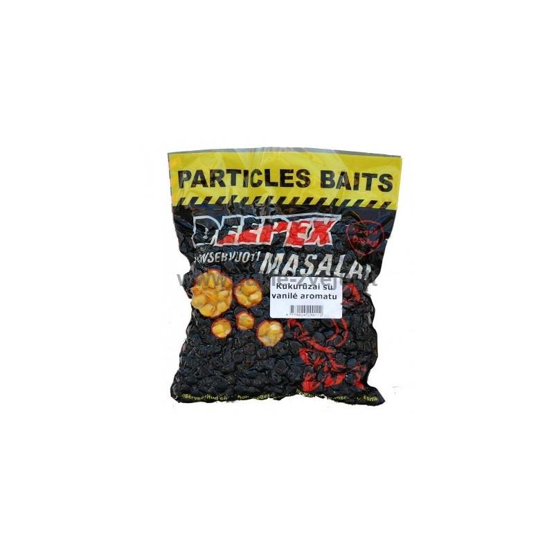 Kukurūzai su vanilės aromatu 0,5kg