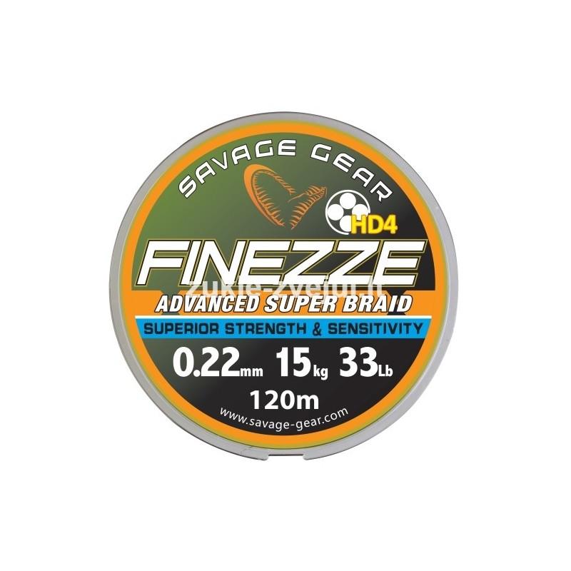 Pintas valas SG Finesse HD4 PE 120m 0.10mm 6kg Grey