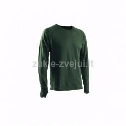 Apatiniai marškiniai Termoswed Zip Light Green