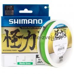 Pintas valas Shimano Kairiki PE SX8 150m žalias
